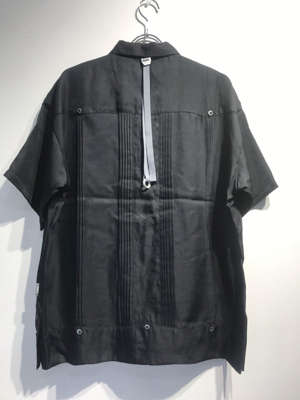 esgrey 100%Silk Cuban shirt