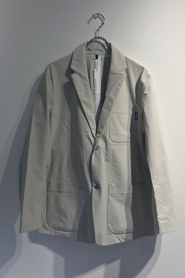 4way cloth seamtaped jacket l.gray