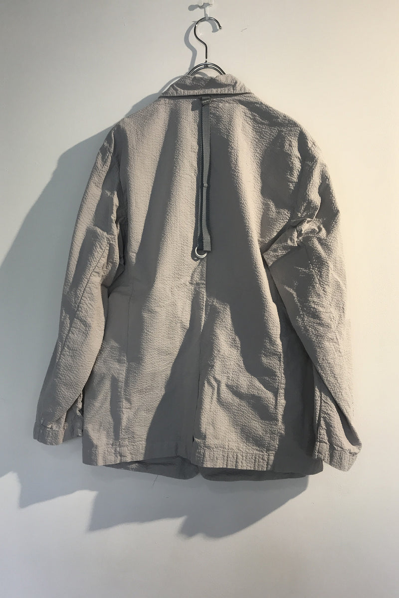 Products dyed seersucker jacket