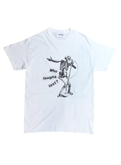 RATM laughs last TEE WHITE