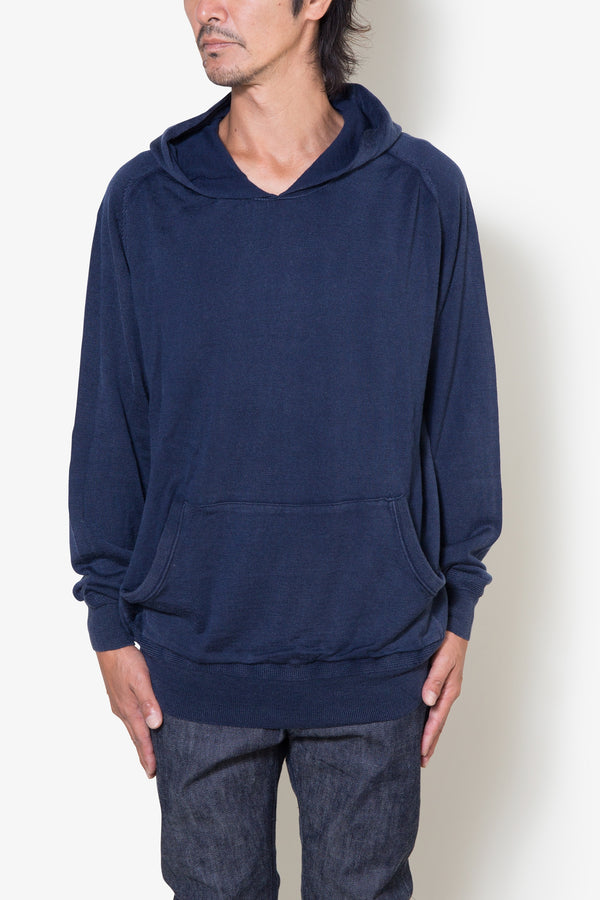 INSONNIA WASH WOOL PARKA NAVY
