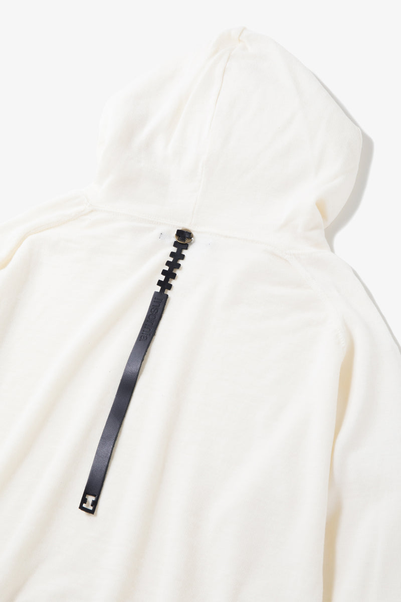 INSONNIA WASH WOOL PARKA WHITE