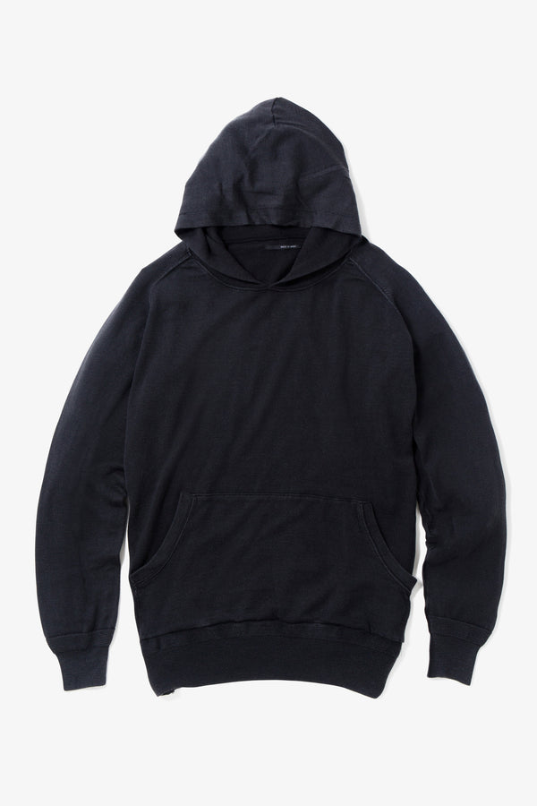 INSONNIA WASH WOOL PARKA BLACK