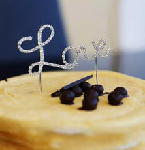 Load image into Gallery viewer, LOVE CAKE TOPPER