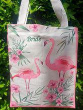 Load image into Gallery viewer, FLAMINGO TOTE BAGS