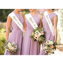 Load image into Gallery viewer, PURPLE WEDDING SASH
