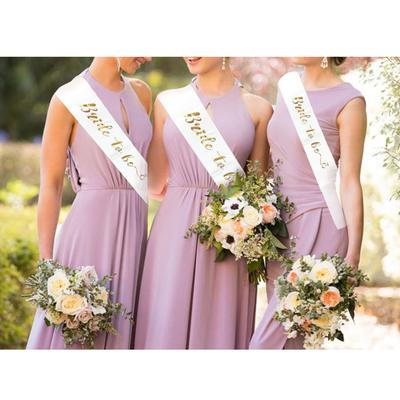 PURPLE WEDDING SASH