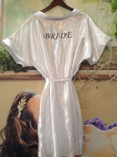 Load image into Gallery viewer, WHITE SATIN BRIDE GOWNS