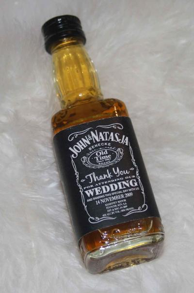 MINI JACK DANIEL LABELS