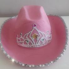 Load image into Gallery viewer, PINK COWGIRL HAT