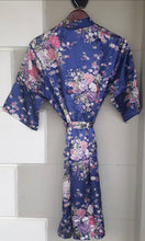 Load image into Gallery viewer, FLORAL SATIN DRESSING GOWNS
