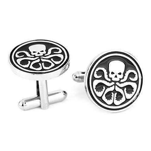 SUPERHERO FACE CUFFLINKS