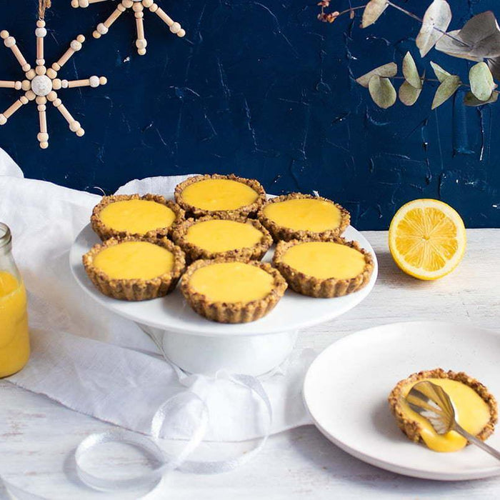 Lemon Curd Tarts - Brookfarm