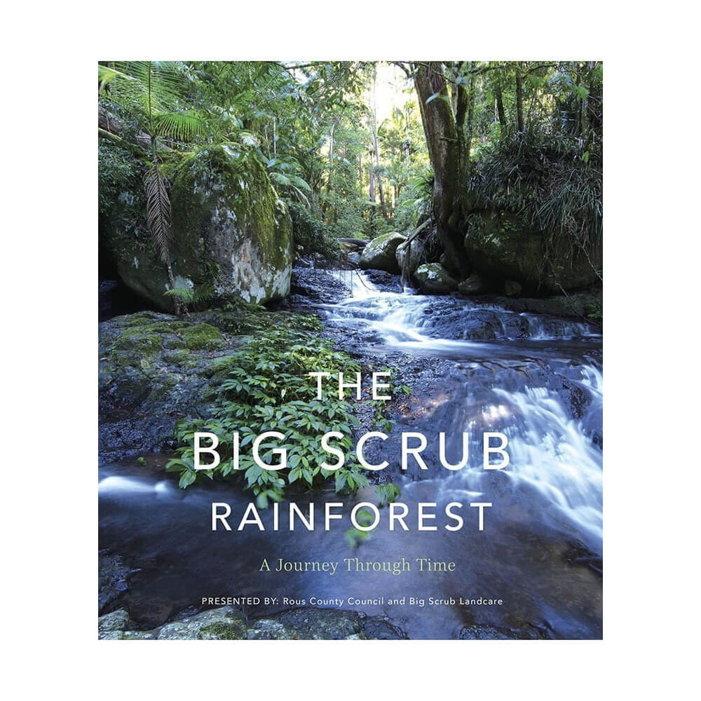 Big Scrub Rainforest Book Front Cover