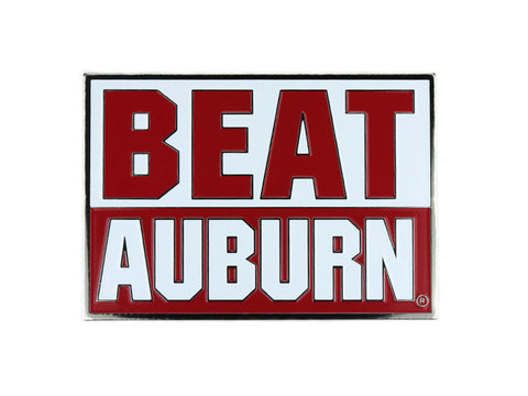 Alabama Beat Auburn Lapel Pin