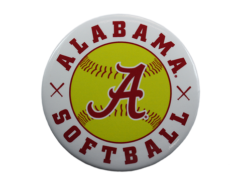Alabama Softball Button