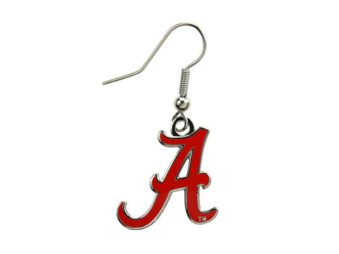Alabama Logo Dangle Earrings