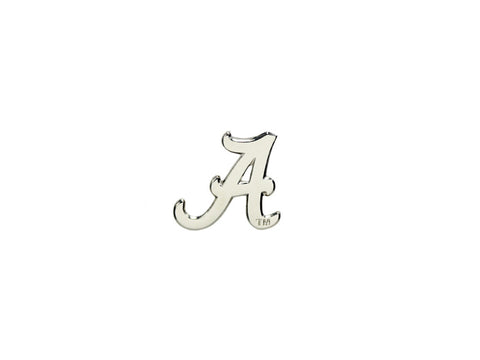 Alabama Logo Silvertone mini Lapel Pin