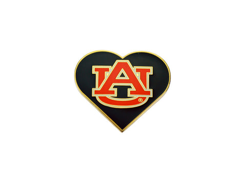 AU Blue Heart pin (AULP15)