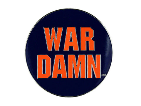 "AU 2"" Navy War Damn pin (AULP24)"