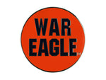 "AU 2"" Orange War Eagle Lapel Pin"