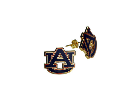 AU logo post earring (AUPE01)