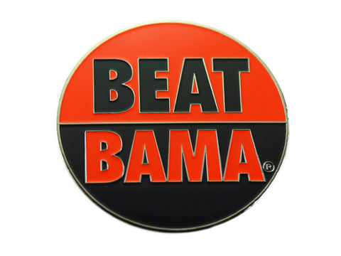 "AU 2"" Beat Bama Lapel Pin"