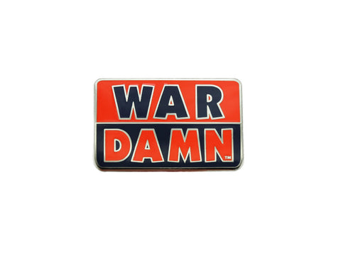"AU ""War Damn"" small pin (AULP25)"