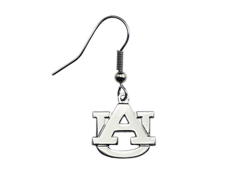 AU Logo Silvertone Dangle (AUDE03)