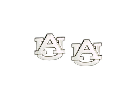 AU Silvertone Post Earrings (AUPE04)