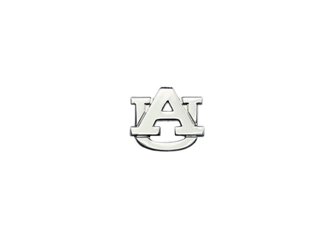 AU Logo Silvertone mini lapel pin