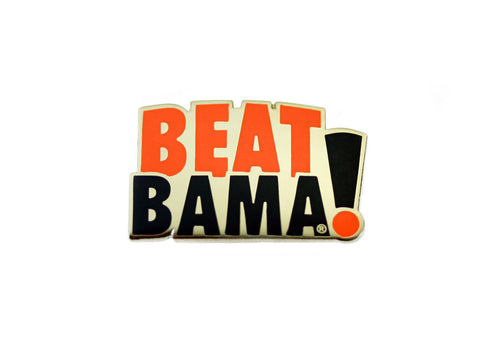AU Beat Bama Lapel Pin