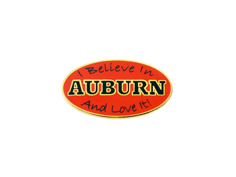 AU Creed Lapel Pin