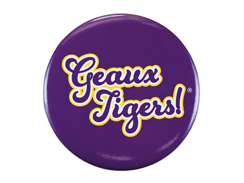 Geaux Tigers, Purple Button