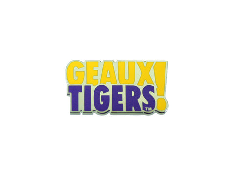 LSU Geaux Tigers Lapel Pin
