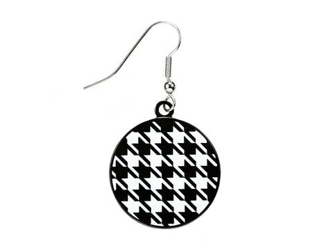 Houndstooth Round Dangle (HRNDDE)