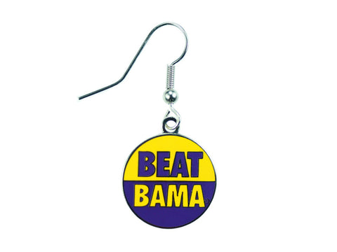 LSU Beat Bama Dangle Earrings