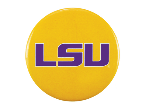 LSU Logo, Gold Button