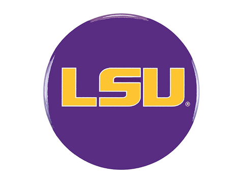 LSU Logo, Purple Button