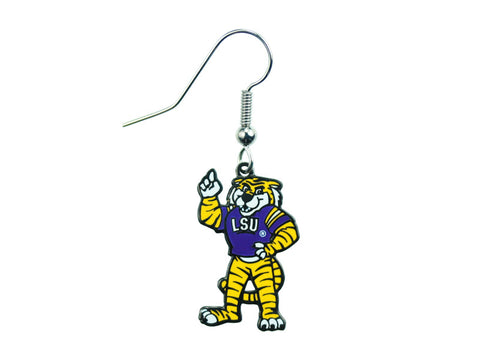LSU Mascot Dangle Earrings