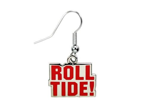 Alabama Roll Tide Dangle Earrings