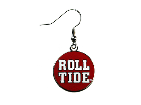 Roll Tide Dangle Earrings