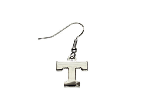 Tennessee T silver tone dangle (TNDE03)