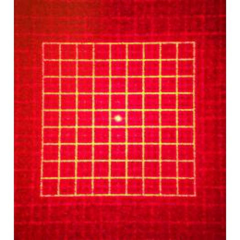 Holographic Attachment for Holographic Collimator - Square Grid Pattern