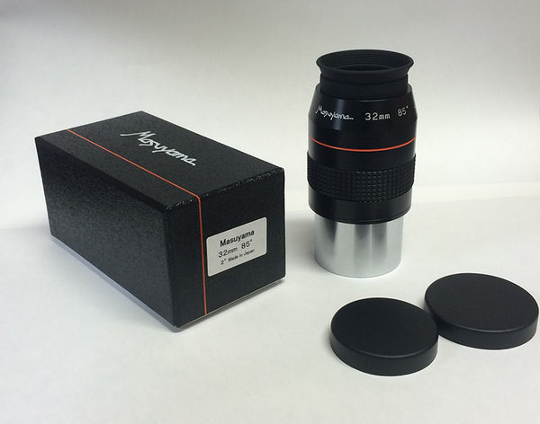 Masuyama High-End Japanese Wide Field Eyepiece 32mm, 85° AFOV