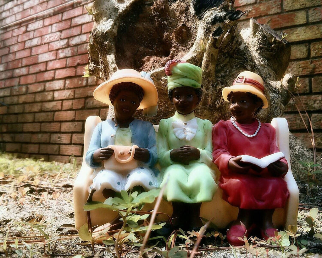 Three Little Women. 24x36 Canvas Art, Room Decor, Photography