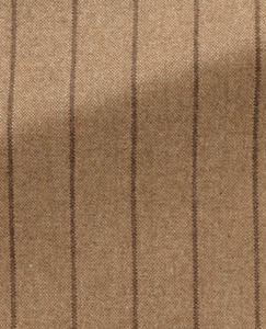 Camel Weave with Brown Chalk Stripe Suit