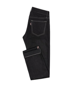 Contrast Stitch Selvedge Rigid Jeans