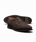 Load image into Gallery viewer, Suede Plain Tip Blucher Shoe