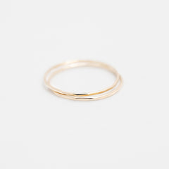 14k Gold BASIE Ring